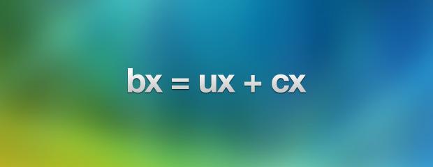 BX + UX + CX Pic